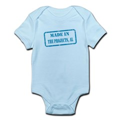 MADE IN THE PROJECTS, AL Infant Bodysuit