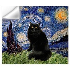 Starry Night /Persian (bl) Wall Decal