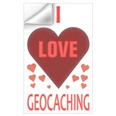 I Love Geocaching Wall Decal