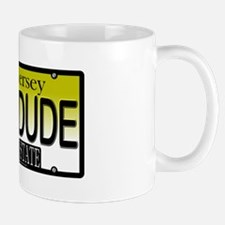 Cool Dude NJ Vanity Plate Mug