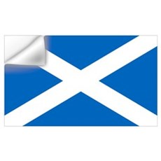 Scottish Flag Wall Decal
