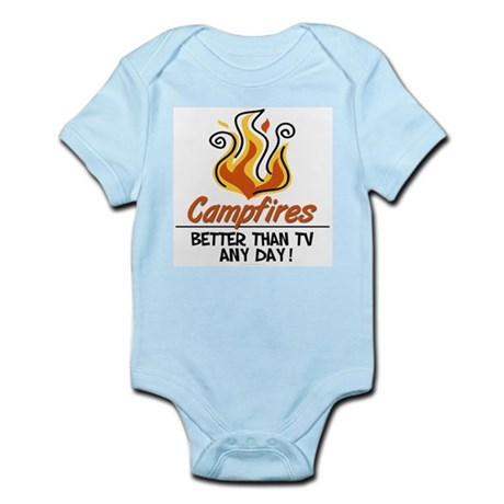 Camping Infant Bodysuit