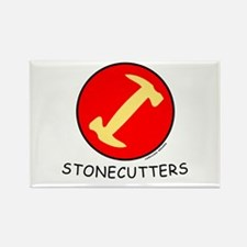 Stonecutters Rectangle Magnet