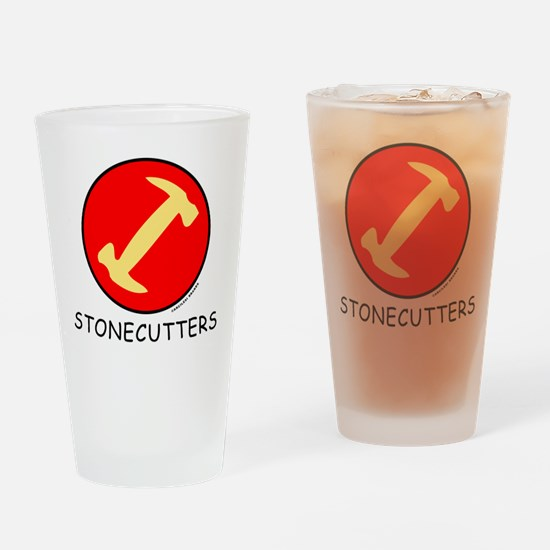 Stonecutters Drinking Glass