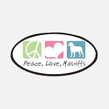 Peace, Love, Mastiffs Patches
