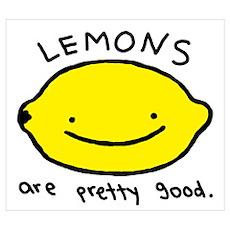 Pretty Good Lemons Poster