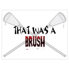 Lacrosse Brush II Framed Print