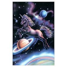 Celestial Unicorn Poster