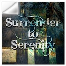 Surrender to Serenity Wall Decal