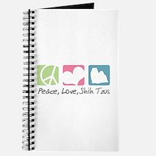 Peace, Love, Shih Tzus Journal