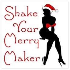 Shake Your Merry Maker Framed Print
