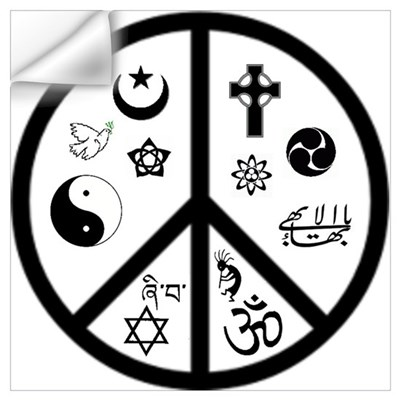 Peaceful Coexistence Wall Decal