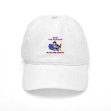 Stop The Invasion Baseball Cap