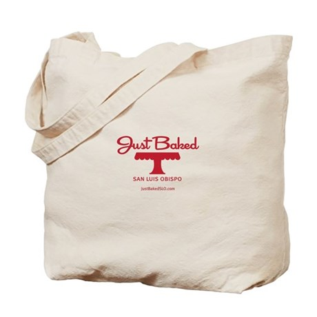 Just Baked SLO Logo Tote Bag