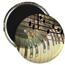 """Abstract Piano 2.25"""" Magnet (10 pack)"""