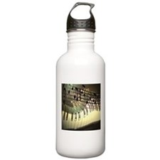 Abstract Piano Water Bottle