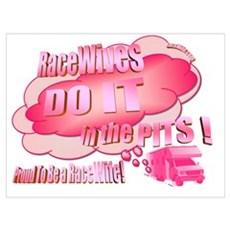 RaceWifes Do It In The Pits! Poster