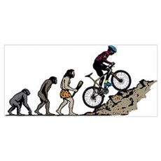 Mountain Biking Poster