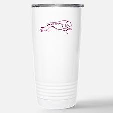 Adopt a Greyhound (Neon) Travel Mug