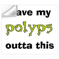 Leave Out Polyps Wall Decal
