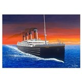 Titanic Wrapped Canvas Art