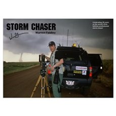 Warren Faidley Storm Chaser Poster