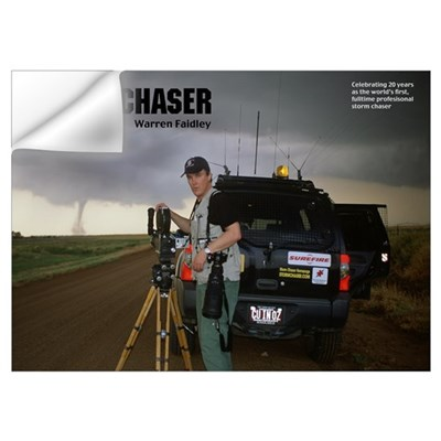 Warren Faidley Storm Chaser Wall Decal