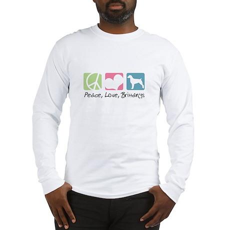 Peace, Love, Brittanys Long Sleeve T-Shirt