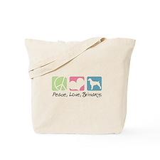 Peace, Love, Brittanys Tote Bag