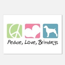 Peace, Love, Brittanys Postcards (Package of 8)