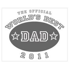 Official World's Best Dad 201 Poster