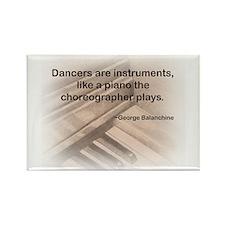Balanchine Rectangle Magnet
