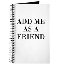 Add Me As A Friend Journal