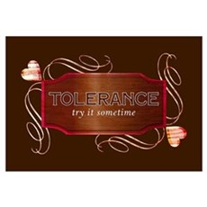 Progressive Tolerance Framed Print