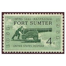 Fort Sumter Civil War Poster