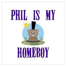 Homeboy Groundhog Day Poster
