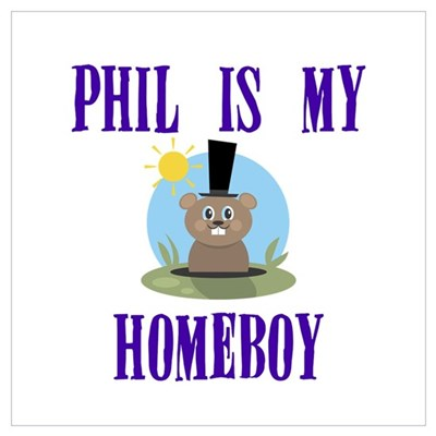 Homeboy Groundhog Day Canvas Art