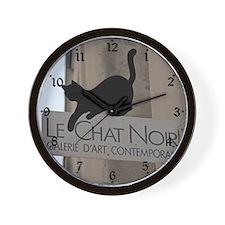 Le Chat Noir Paris Wall Clock