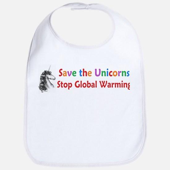 Save the Unicorns! Bib