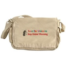 Save the Unicorns! Messenger Bag