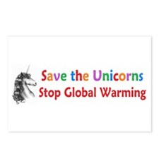 Save the Unicorns! Postcards (Package of 8)