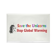 Save the Unicorns! Rectangle Magnet