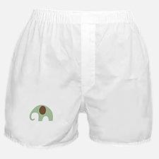 Dottie Elephant Green Boxer Shorts