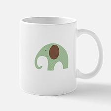 Dottie Elephant Green Mug