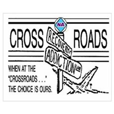N A CROSSROADS Canvas Art