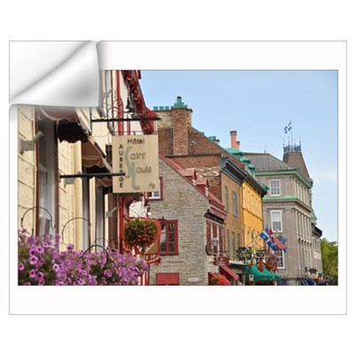 Visions of Quebec Wall Decal