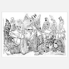 Calaveras en Bicicleta