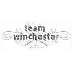 SUPERNATURAL Team Winchester Poster