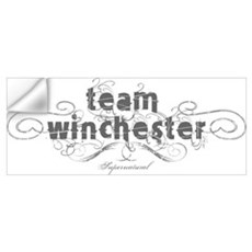 SUPERNATURAL Team Winchester Wall Decal