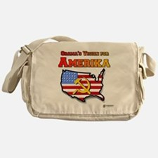 Amerika Messenger Bag